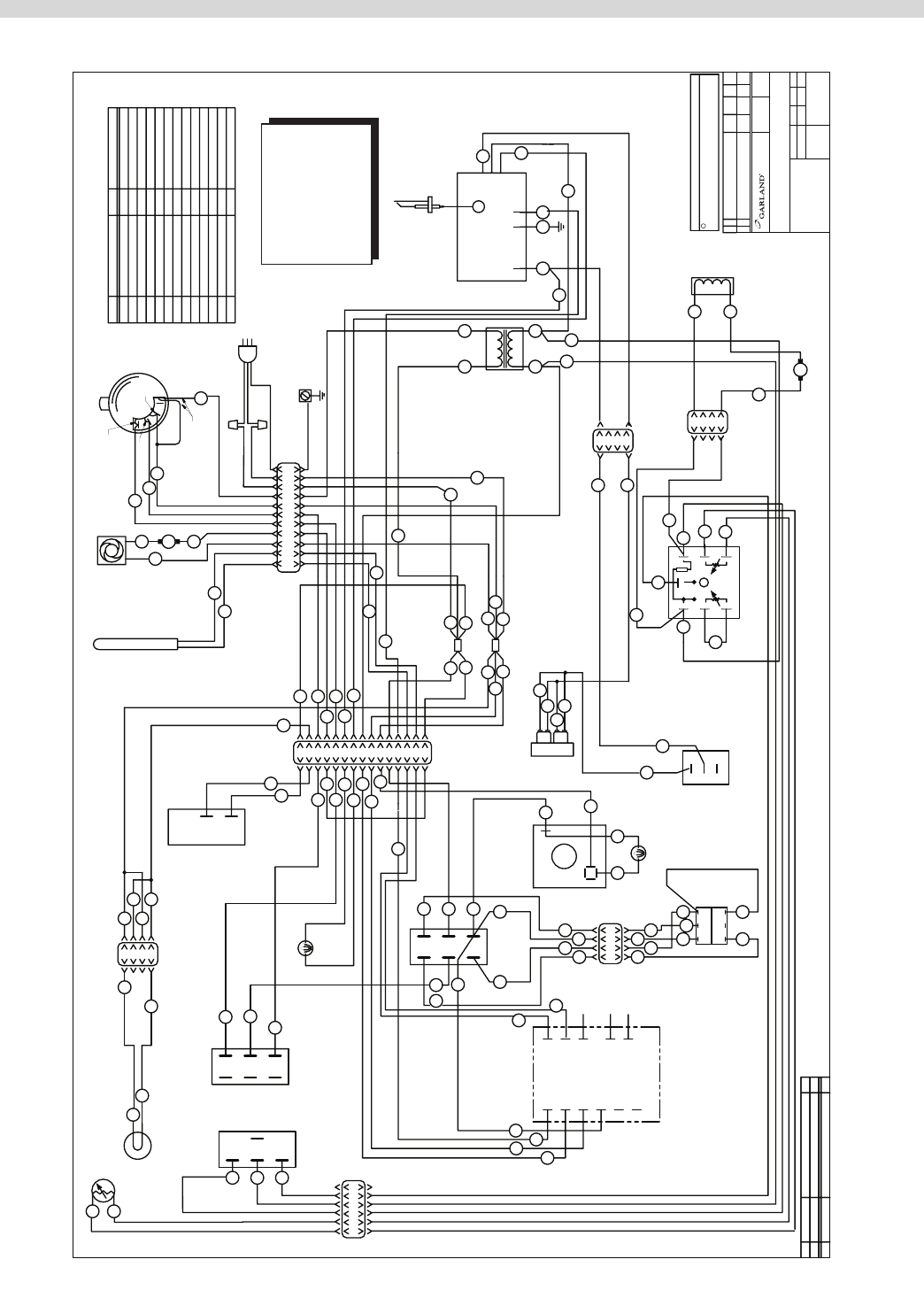 Page 55 Of Garland Oven Mp Gs User Guide Manualsonlinecom Raymarine Microphone Wiring Diagram Part Mpsm07 03 24 08 Diagrams
