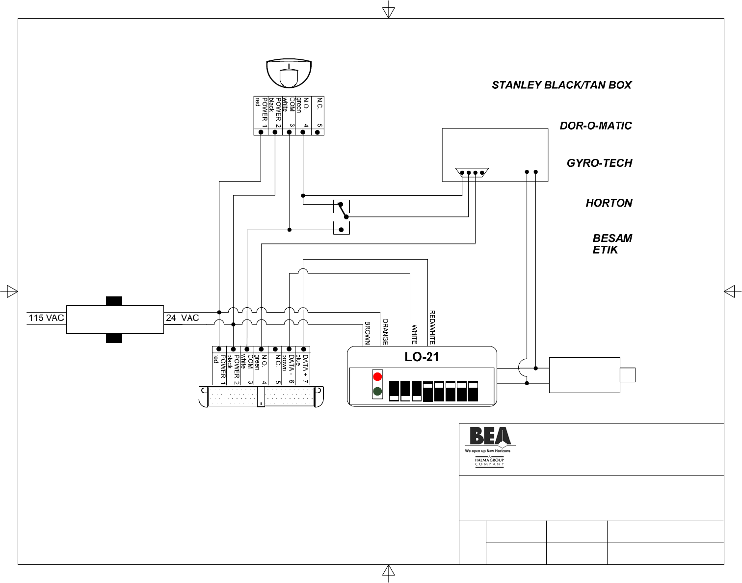 Bea Switch 80 0000 02 User Guide