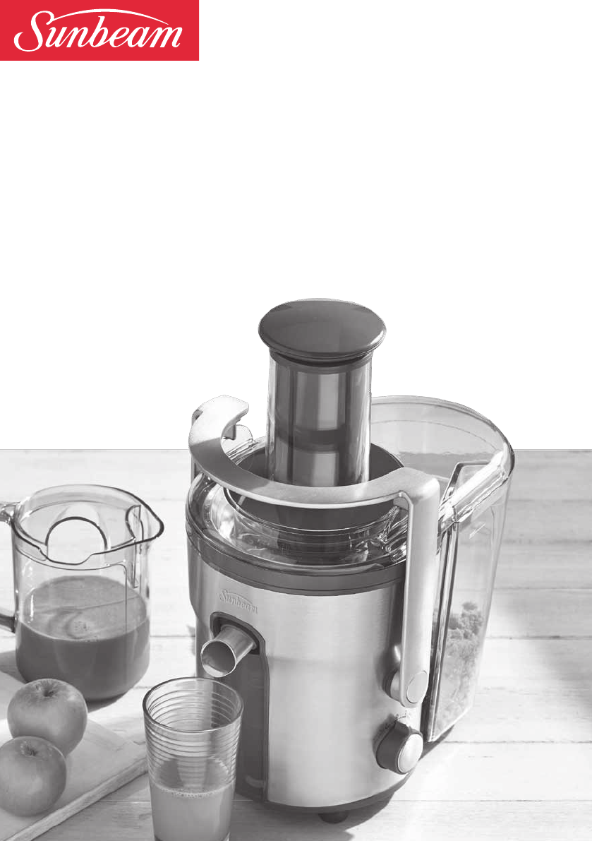 Sunbeam Juicer JE5600 User Guide ManualsOnline.com