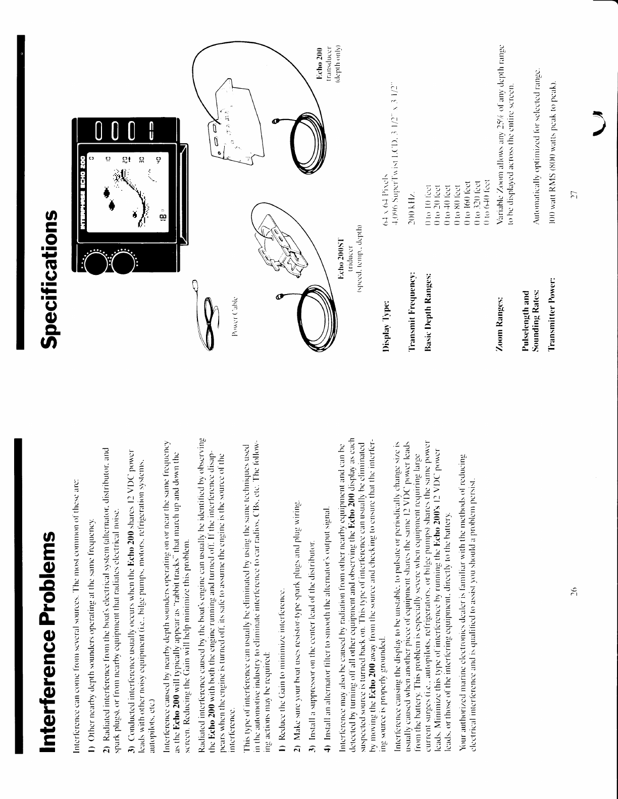 page 13 of interphase tech fish finder 200 user guide rh marine manualsonline com Army Technical Manuals Tech Review Manual