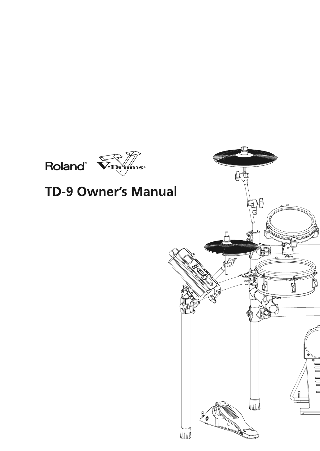 roland drums td 9 user guide manualsonline com rh music manualsonline com roland td 9 manual español roland percussion sound module td-9 manual