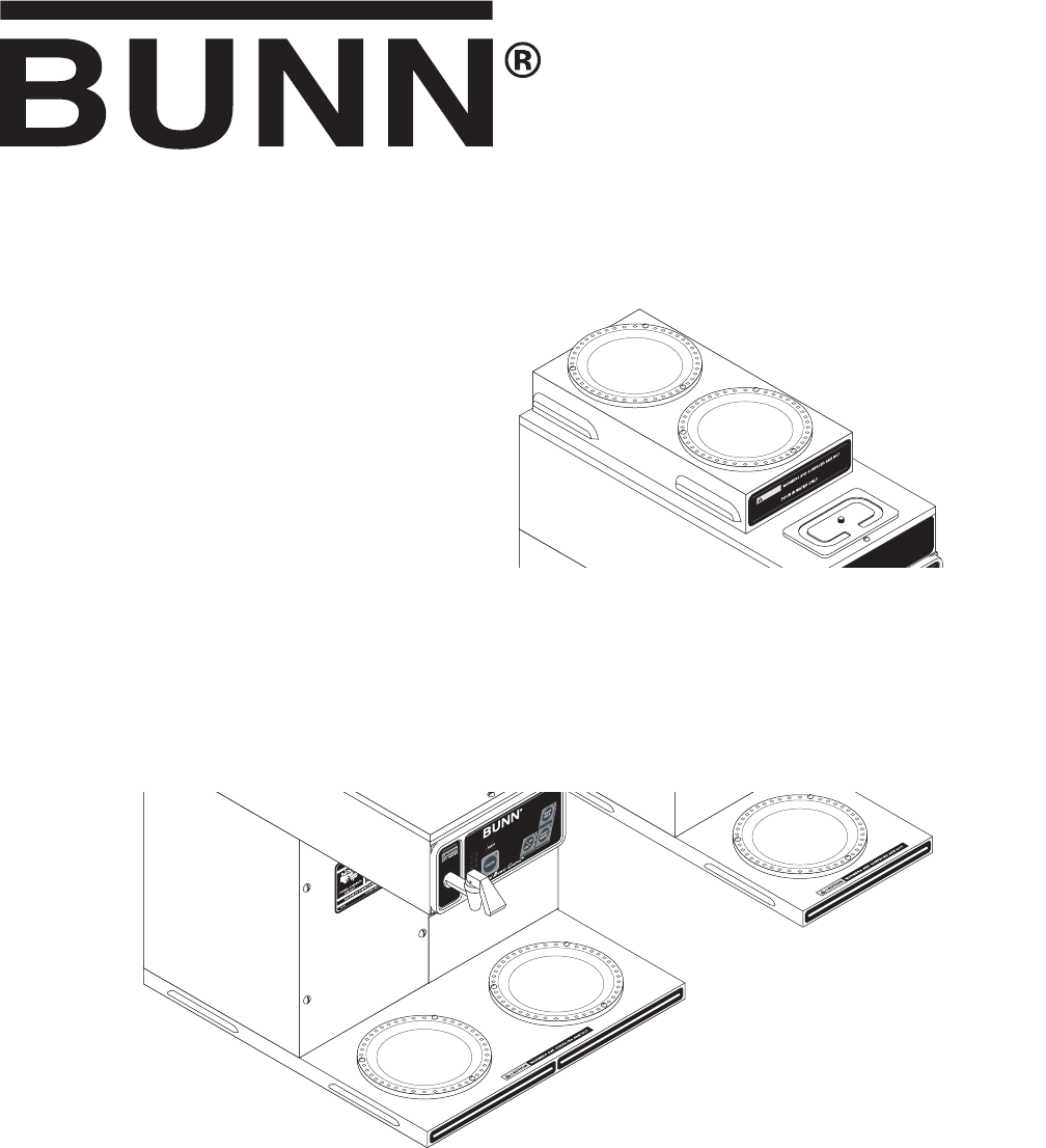 Bunn Coffee Maker User Guide : Bunn Coffeemaker CDBCF User Guide ManualsOnline.com