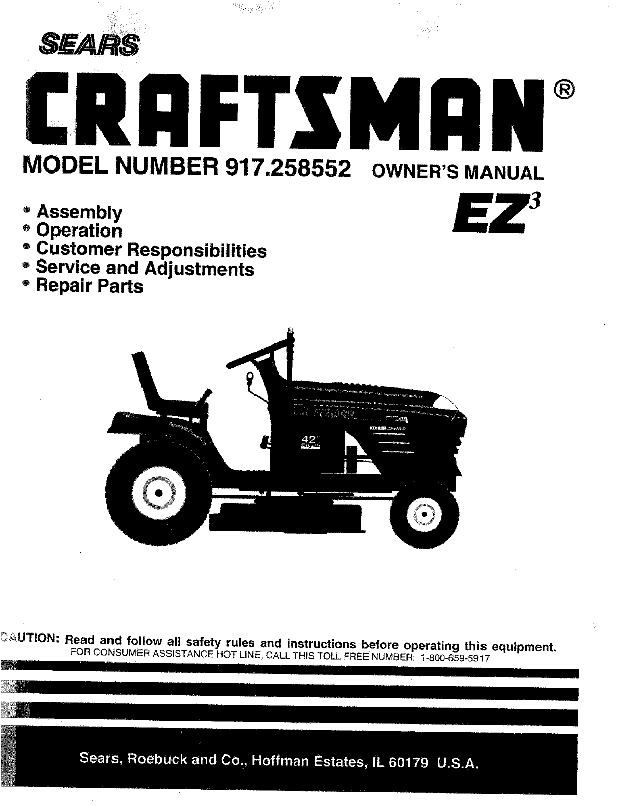 33079986 30f9 44d1 813d 03385cde631a bg1 sears lawn mower 917 258552 user guide manualsonline com craftsman lt4000 wiring diagram at crackthecode.co