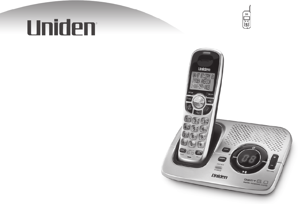 uniden cordless telephone dect1580 user guide manualsonline com rh phone manualsonline com Uniden-DECT 6.0 Problems Uniden-DECT 6.0 Problems