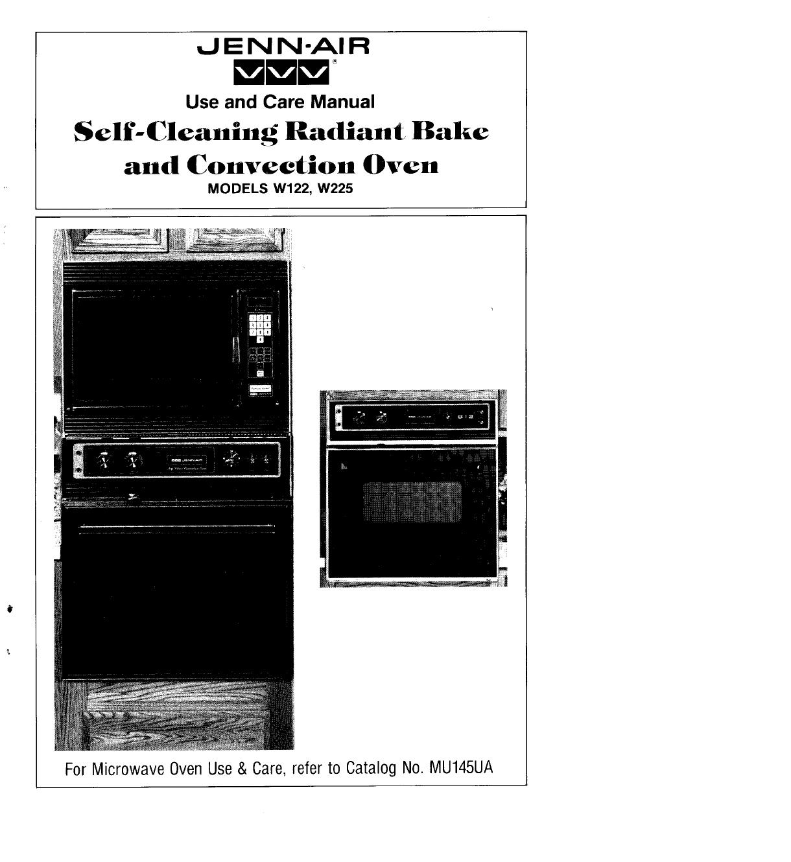 jenn air oven w122 user guide manualsonline com rh kitchen manualsonline com jenn air double oven specs jenn air double wall oven installation manual