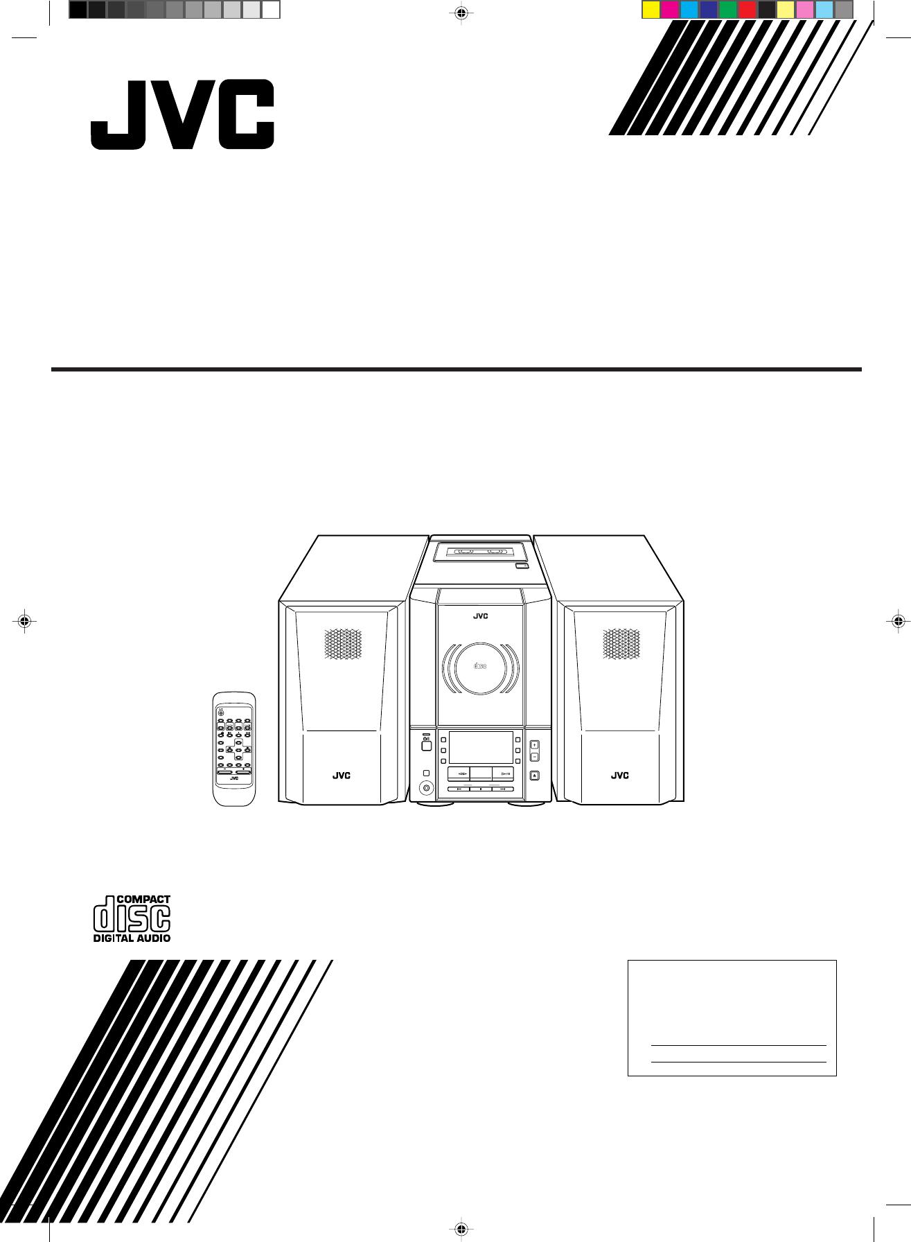 jvc speaker system ux