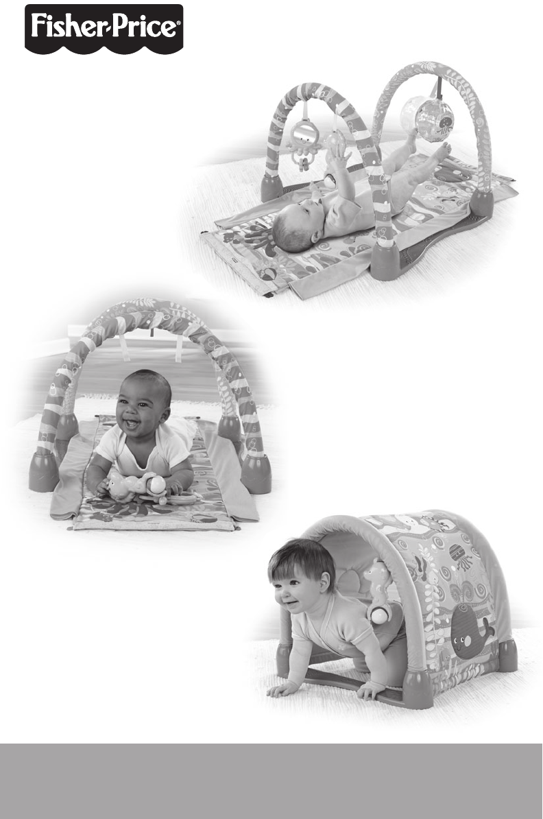 Fisher Price Baby Gym P5331 User Guide Manualsonline