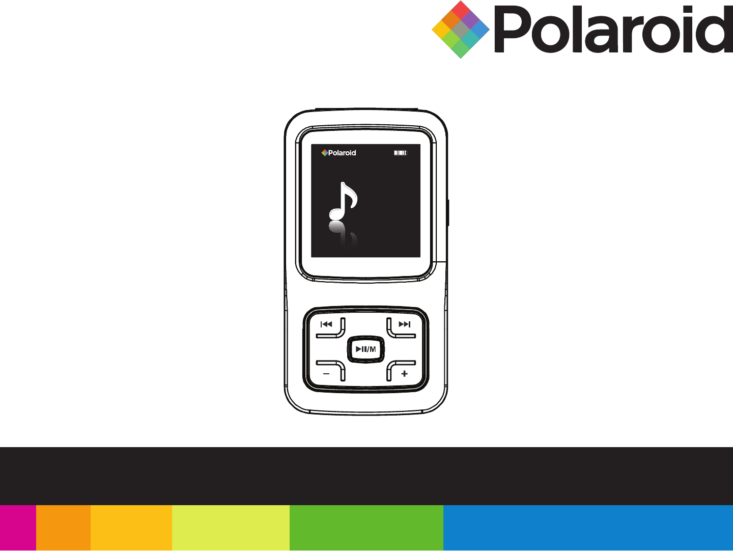 polaroid mp3 player pmp150 user guide manualsonline com rh portablemedia manualsonline com Polaroid MP3 Player Software Polaroid MP3 Player with 7 Inch