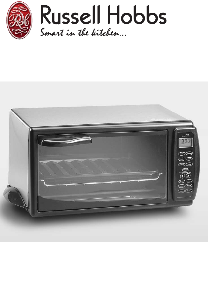sunbeam convection oven user manual