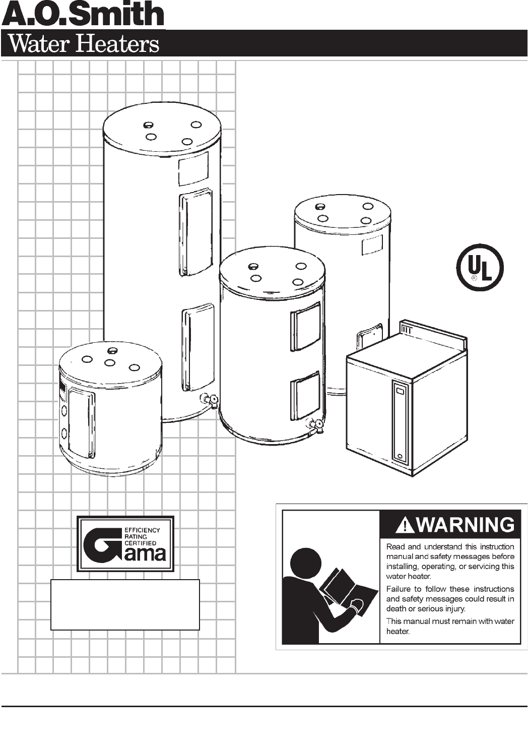 Ao Smith Water Heater Wiring Diagram Manual Guide
