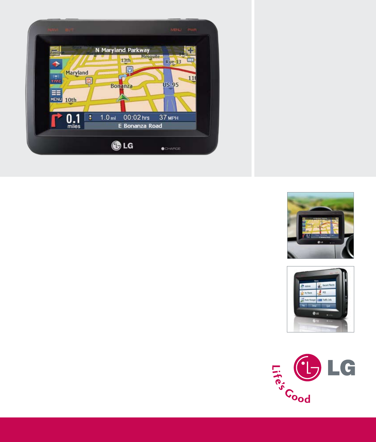 lg electronics gps receiver ln790 user guide manualsonline com rh auto manualsonline com LG User Manual Guide LG Owner's Manual