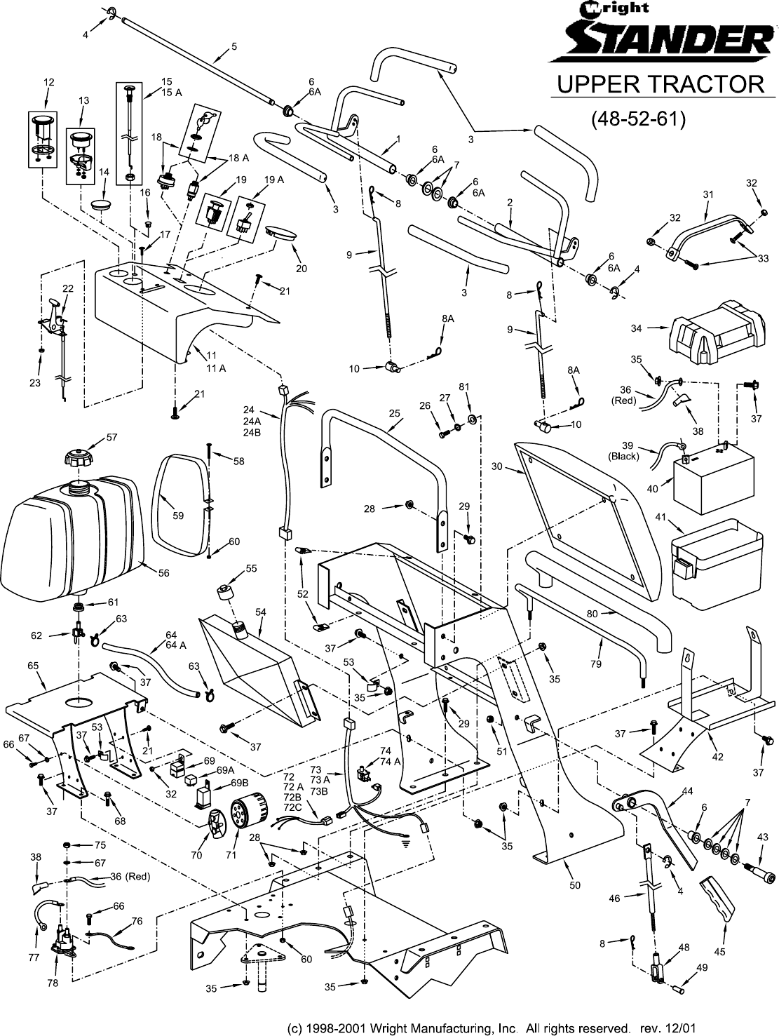 page 9 of wright manufacturing lawn mower 52 user guide rh lawnandgarden manualsonline com wright stander 61 manual wright stander parts manual