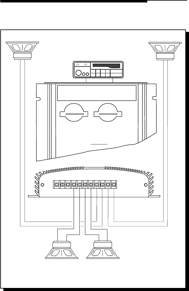 page of rockford fosgate car amplifier x user guide wiring diagrams 4600x