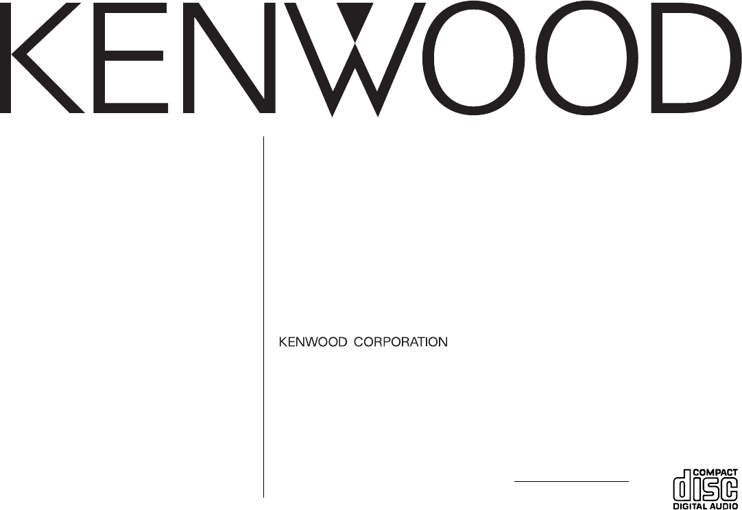 kenwood car stereo system kdc 122 user guide manualsonline com rh kitchen manualsonline com Kenwood Radio Wiring Colors Kenwood KDC Hd545u Wiring-Diagram