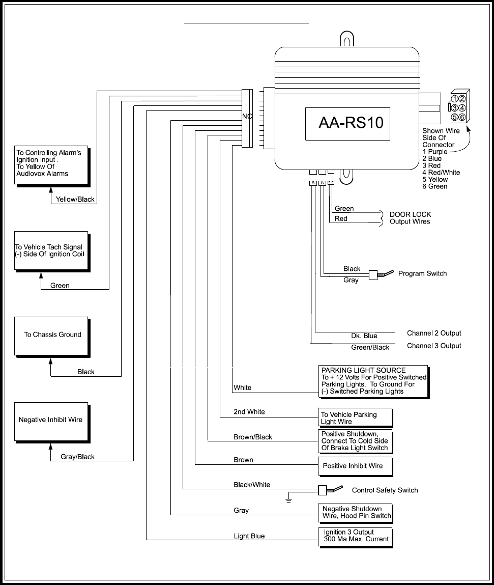 36d5cbc5 8b08 4269 ba10 233d51571fe9 bg10 page 16 of audiovox remote starter aa rs10cs user guide audiovox car alarm wiring diagram at gsmx.co