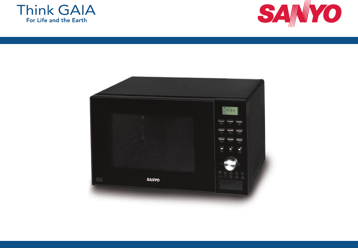 Sanyo Em C8787b Microwave Oven User Manual