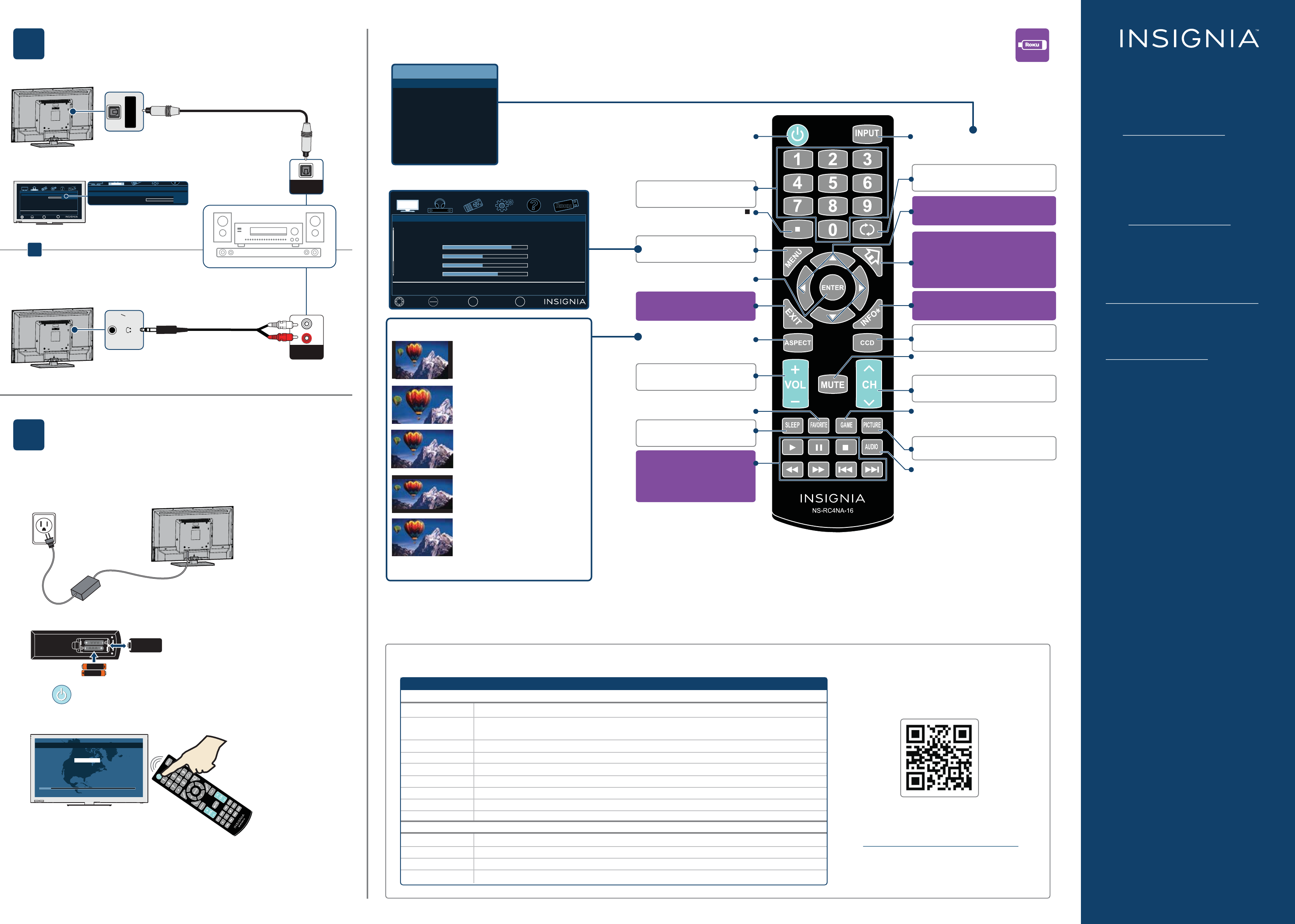 page 2 of insignia car satellite tv system ns 32d312na15 user guide rh caraudio manualsonline com insignia lcd tv user manual Insignia Roku TV Remote Manual
