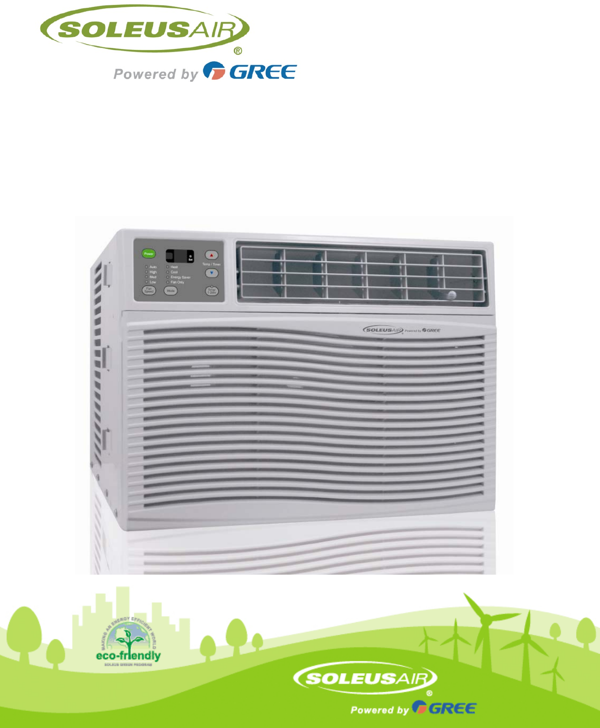 soleus air window air conditioner manual