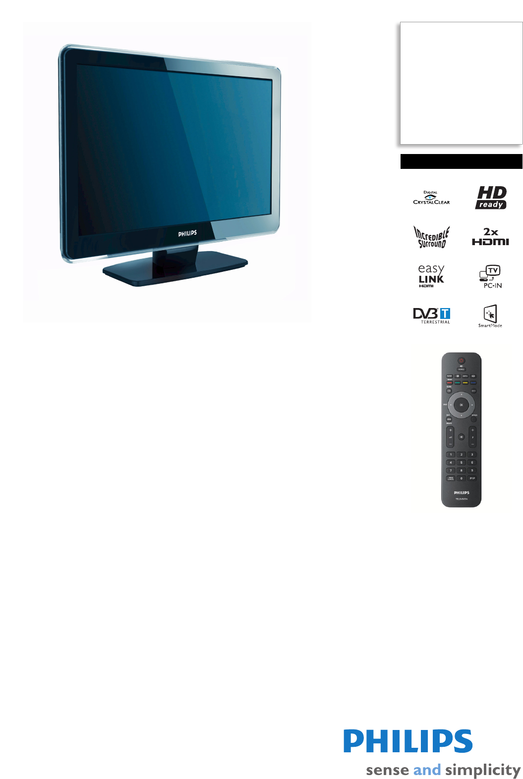 philips flat panel television 22pfl5403s user guide manualsonline com rh tv manualsonline com user manual for philips voice tracer 4100 user guide for philips tv