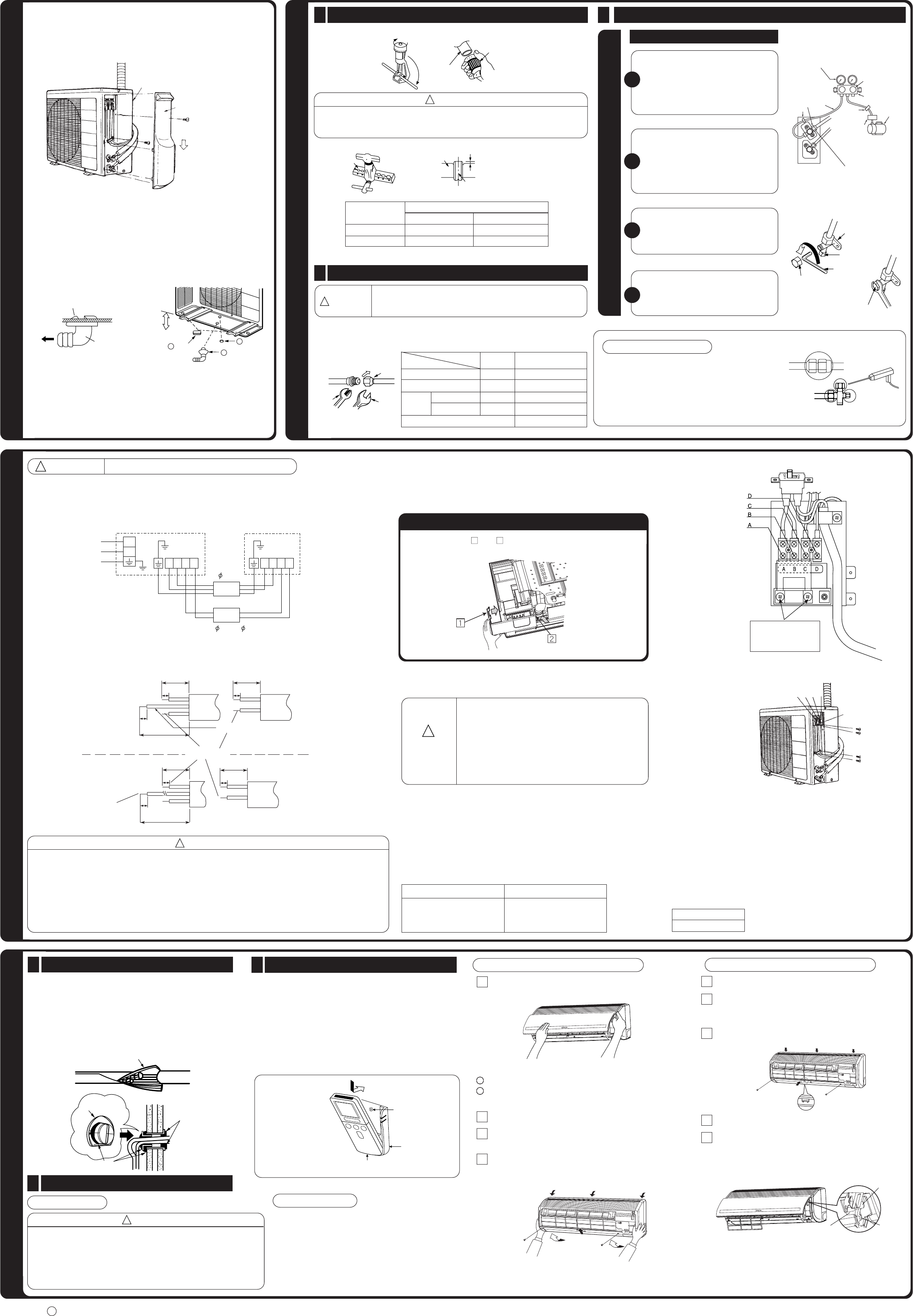 Page 2 Of Hitachi Air Conditioner Rac 14kh2 User Guide Control Box Wiring Diagram Outdoor Unit