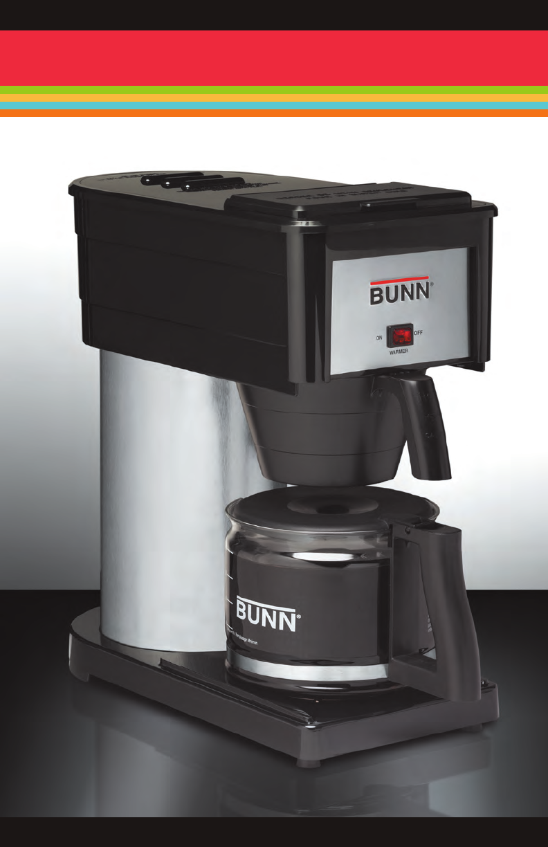 Bunn Coffee Maker User Guide : Bunn Coffeemaker GRX User Guide ManualsOnline.com
