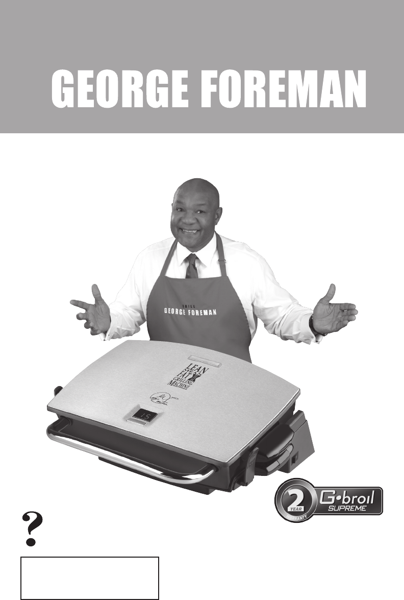 lean mean fat grilling machine manual pdf