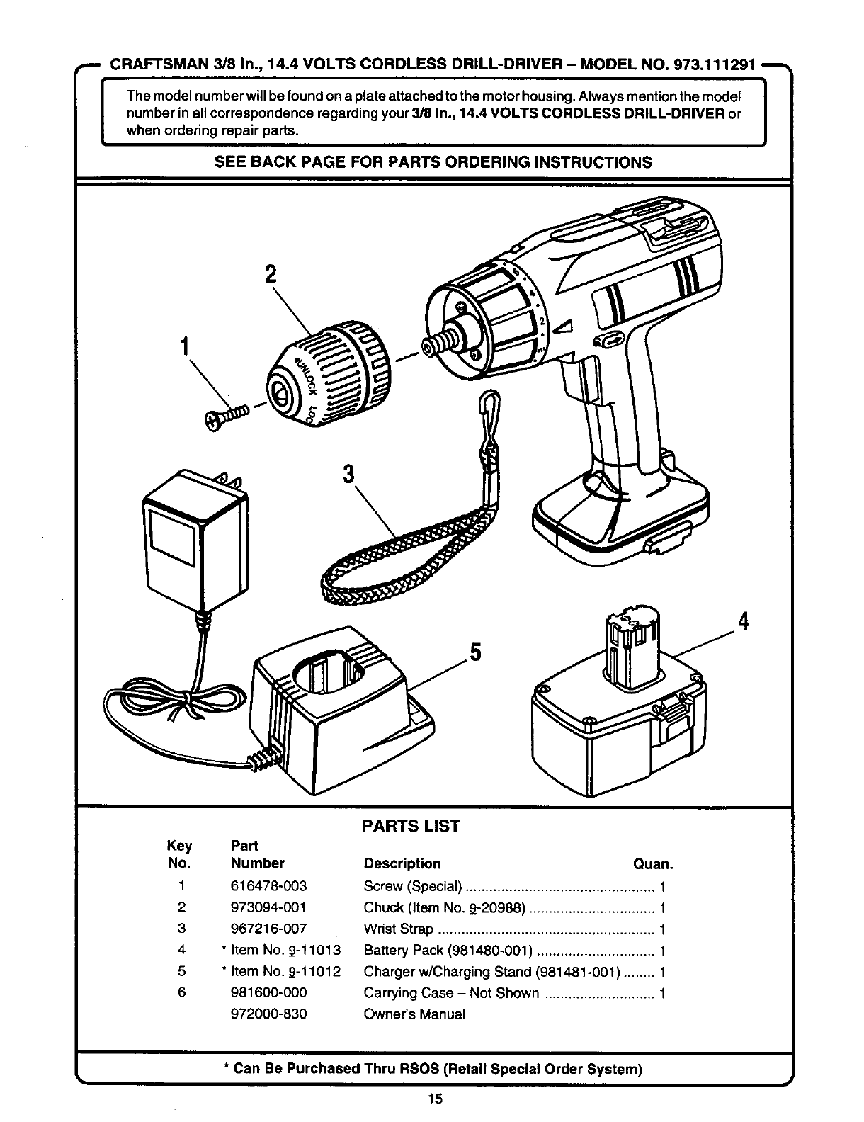 page 15 of craftsman cordless drill 973 111291 user guide rh powertool manualsonline com bosch cordless drill service manual bosch 18v drill manual