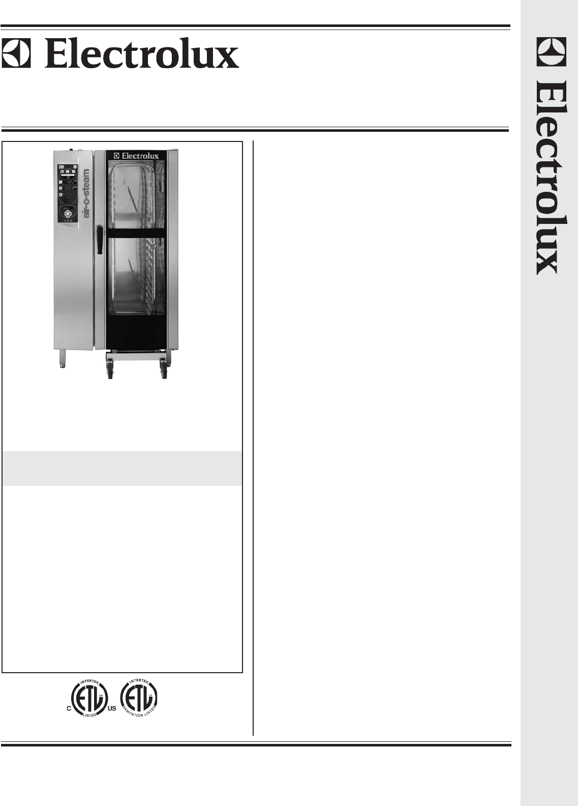 electric oven electrolux electric oven manual rh electricovenpinraga blogspot com electrolux combi steam oven manual electrolux combi oven parts