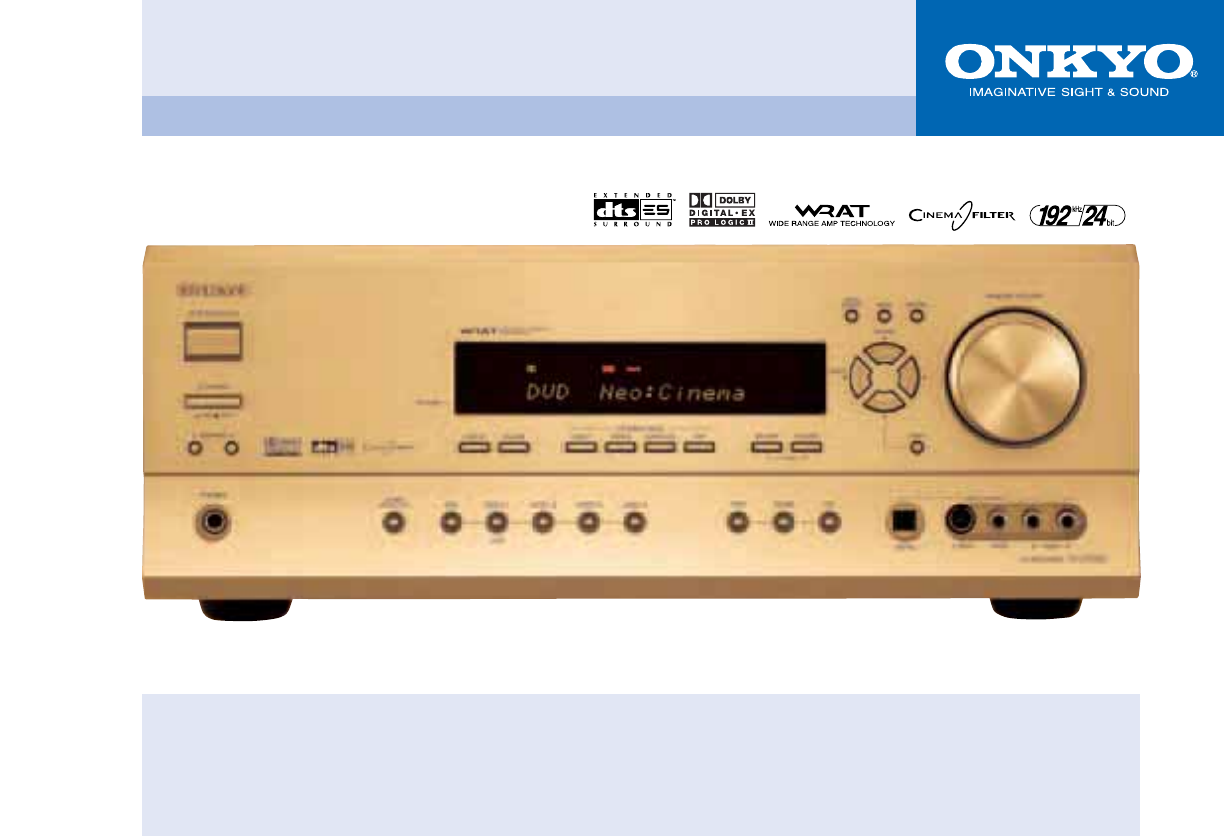 onkyo user manual