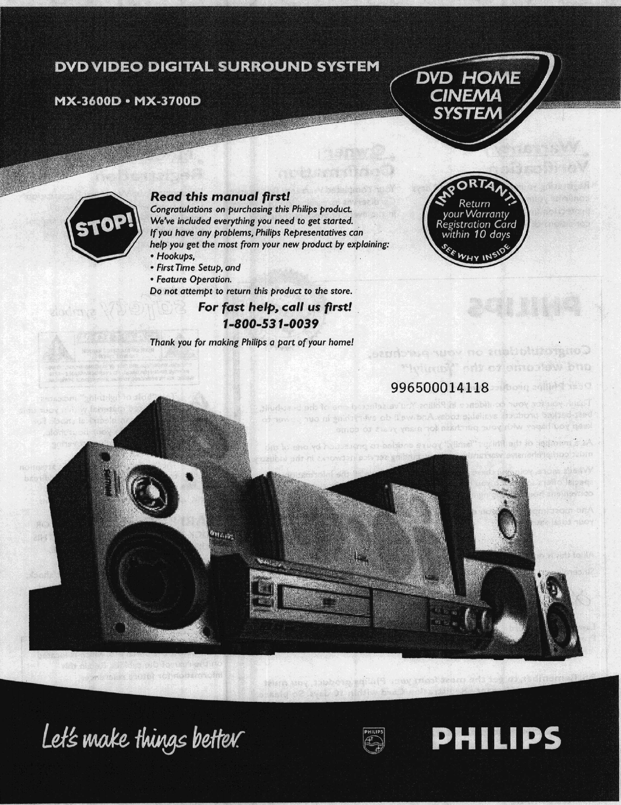 philips home theater system mx 3700d user guide manualsonline com rh audio manualsonline com Philips Electronics Manuals Philips Schematics