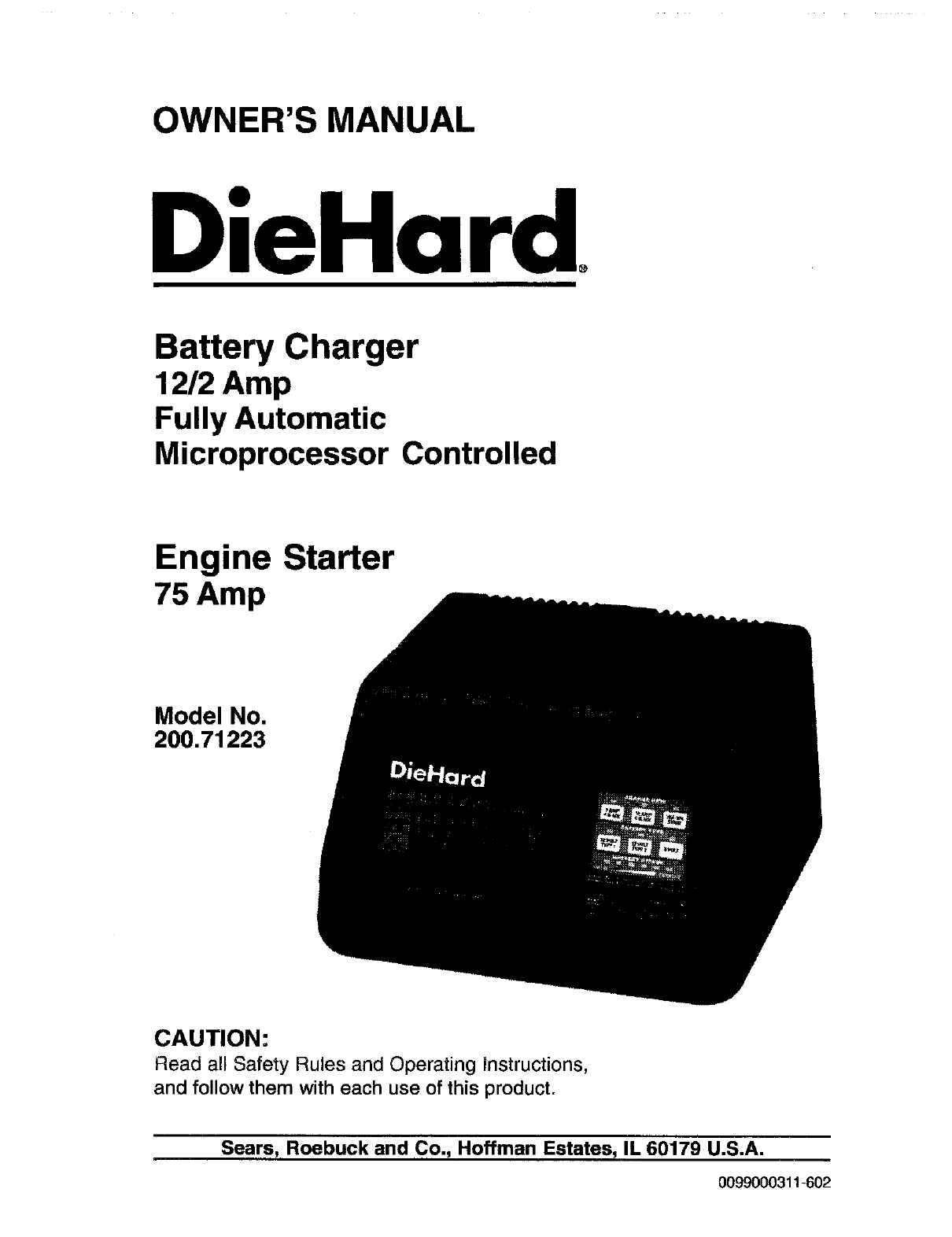 sca microprocessor controlled battery charger instructions