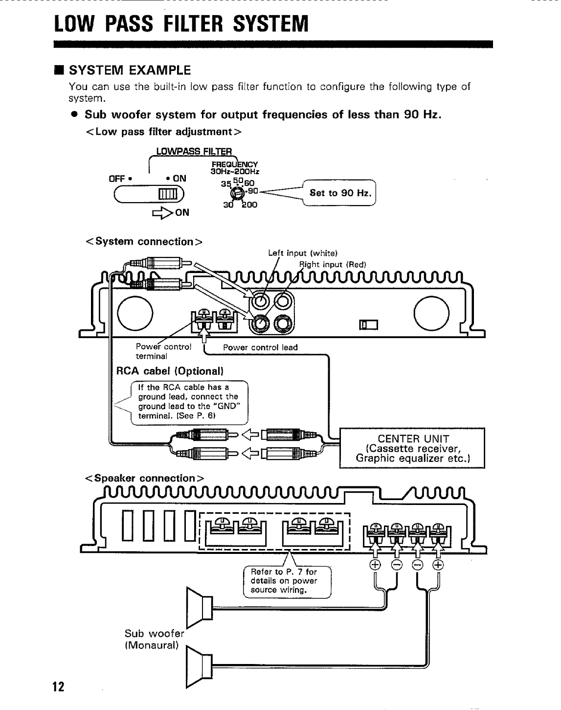 Page 12 of kenwood stereo amplifier kac 1023 user guide of 18 cheapraybanclubmaster Image collections