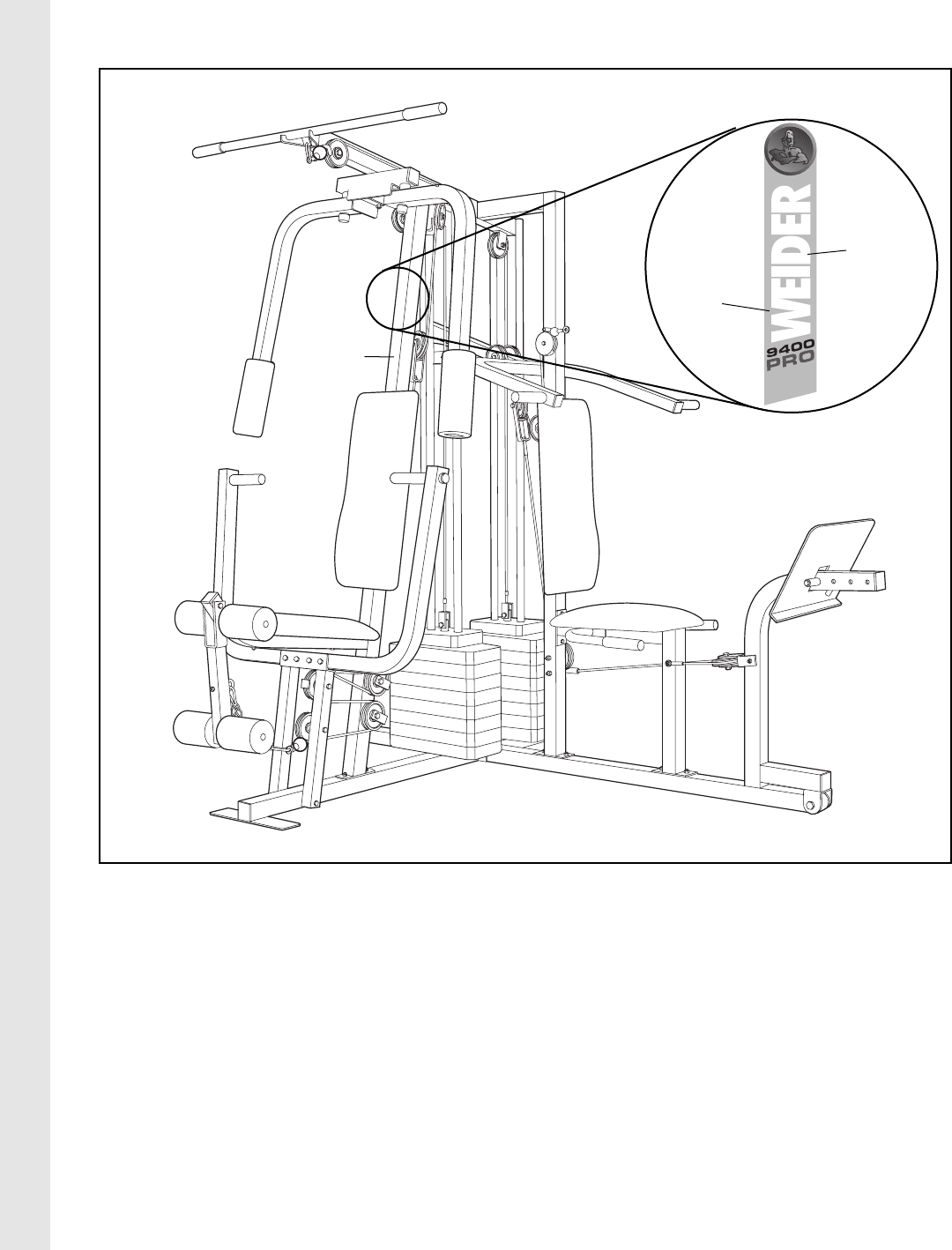 Page 20 of weider home gym pro 9400 user guide manualsonline 20 pooptronica Image collections