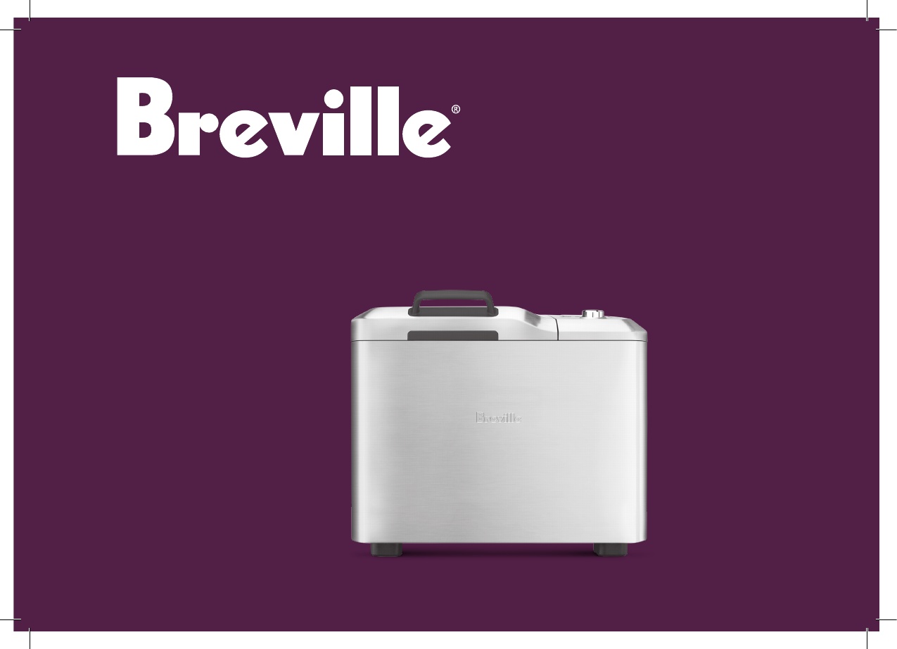 breville bread maker instructions