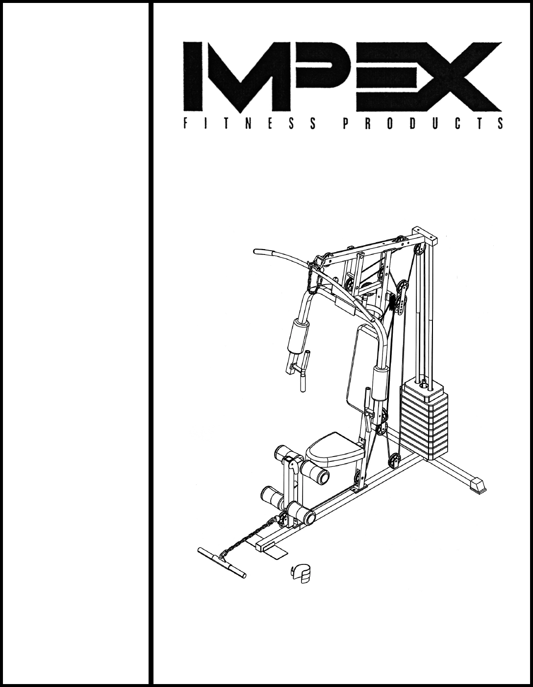 Impex home gym md user guide manualsonline