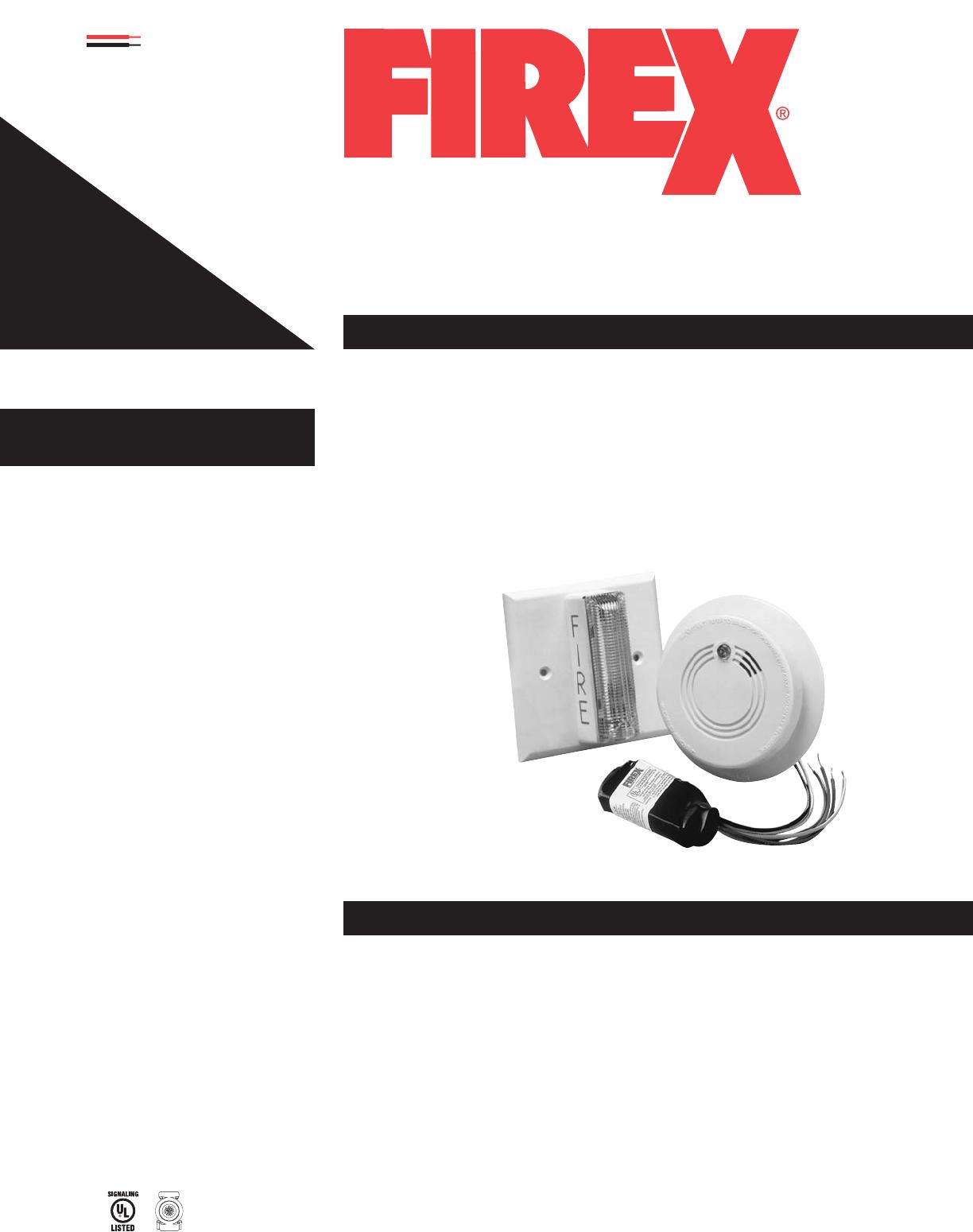 firex smoke alarm 242 user guide manualsonline com rh tv manualsonline com firex smoke alarm i4618 owners manual Firex Smoke Alarm Model 1276