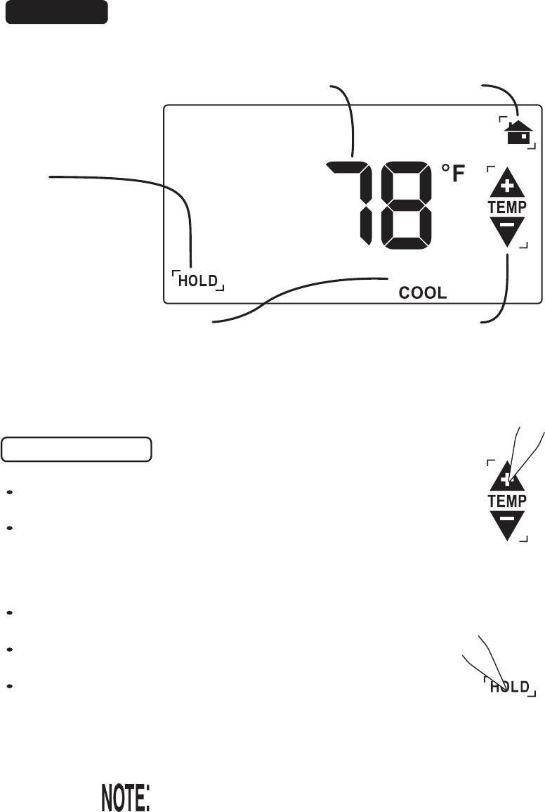 Page 6 of ritetemp Thermostat 8030C User Guide