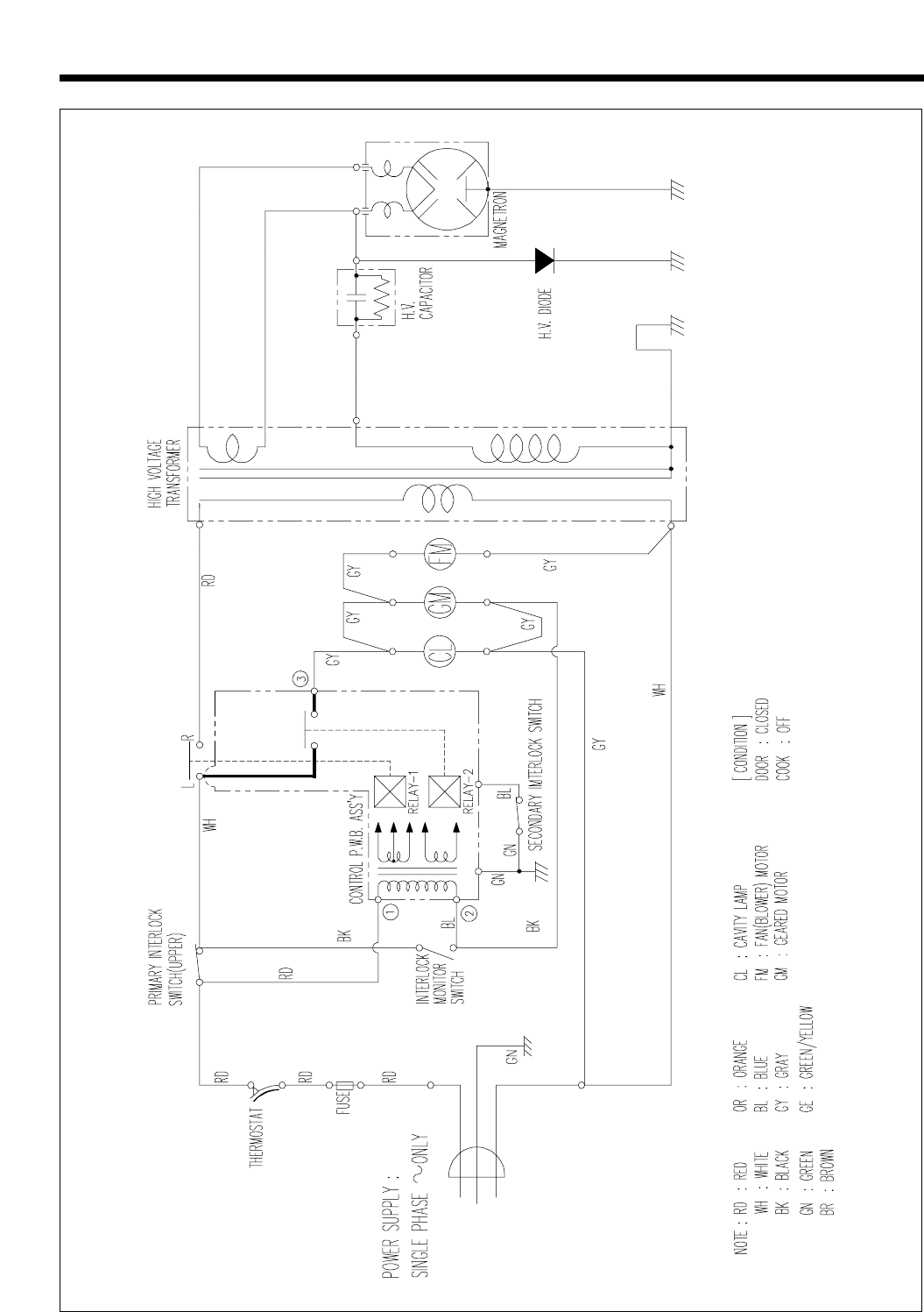page 26 of daewoo microwave oven kor