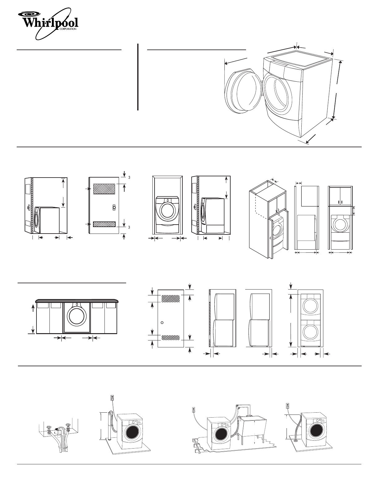 Whirlpool Washer Wfw9500t User Guide Manualsonlinecom W10158196a Wiring Schematics Manual