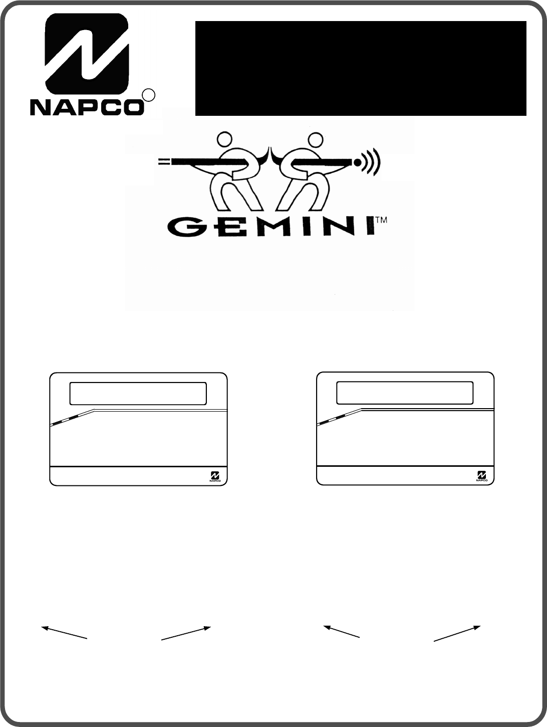 napco security technologies home security system gem p3200 user guide manualsonline