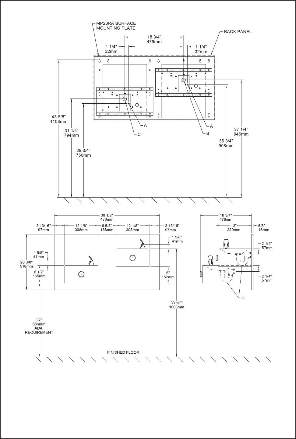 Page 5 of Elkay Outdoor Fountain EDFP217C User Guide