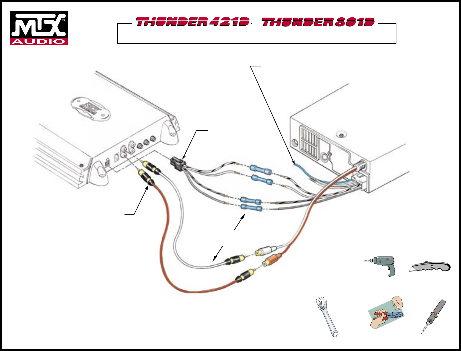 Mtx Audio Car Stereo System Ndm219 User Guide Manualsonlinecom Orion Wiring Diagram Or