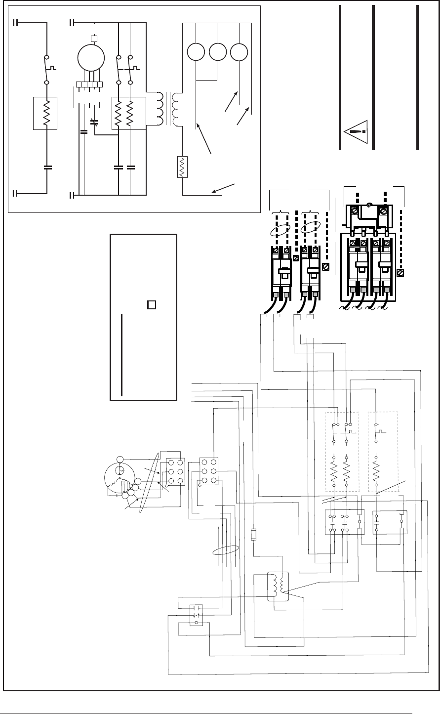 Page 25 of Nordyne Air Conditioner E3 User Guide – Intertherm Wiring Diagrams