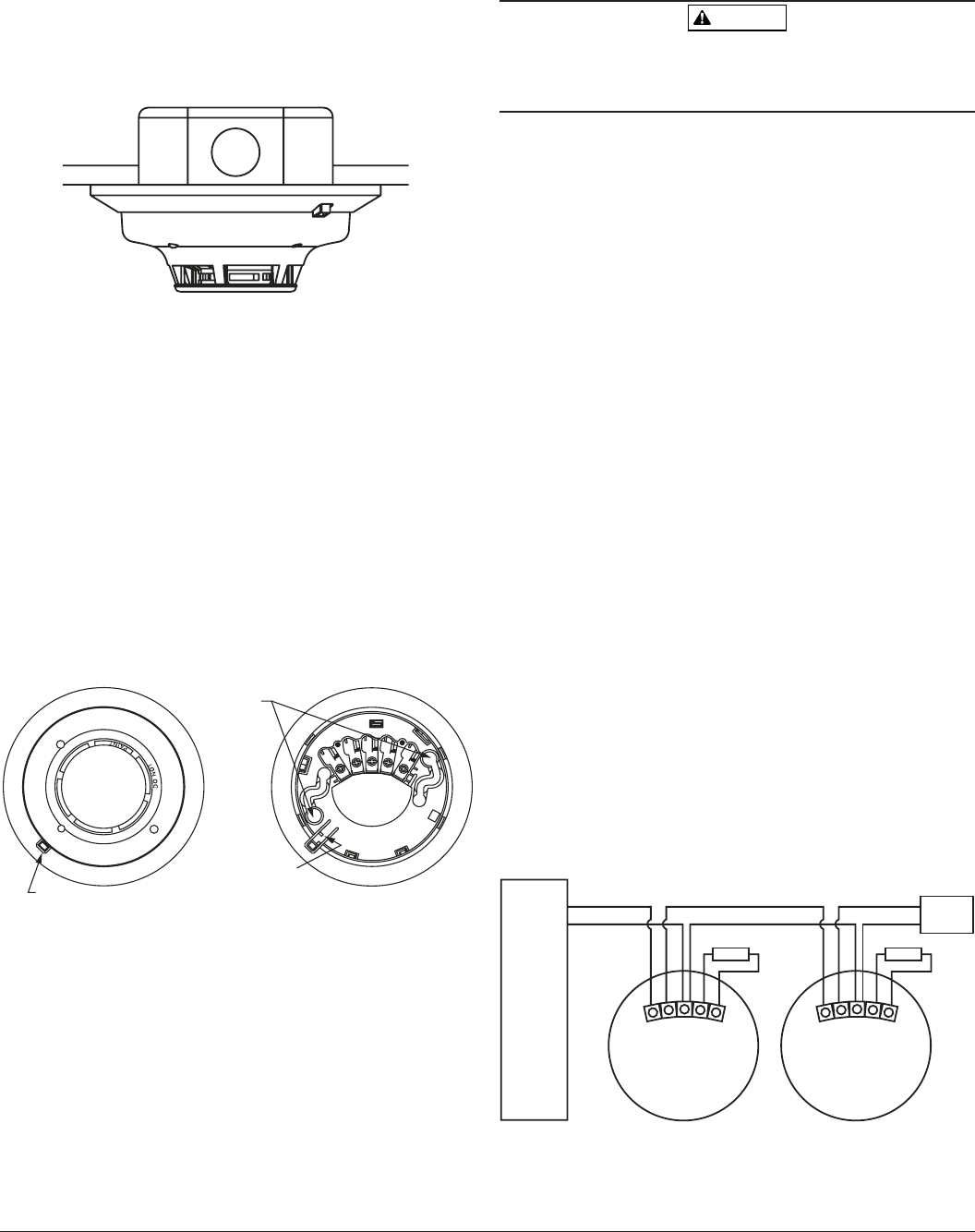 system sensor smoke detector connection diagram system page 2 of system sensor smoke alarm 2w b user guide on system sensor smoke detector smoke alarm wiring diagram