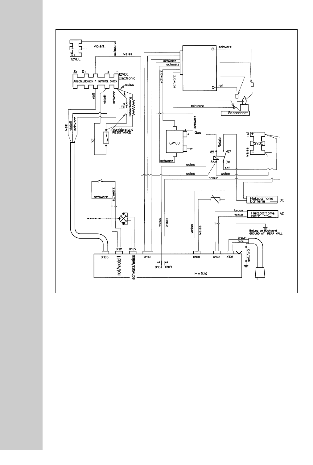 page 28 of dometic refrigerator rm 7655 l user guide