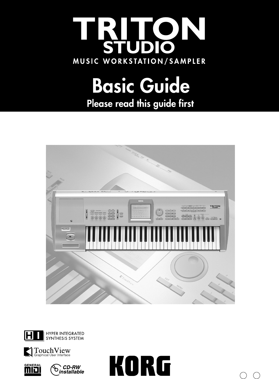 Korg musical instrument music workstation user guide manualsonline 1e publicscrutiny Image collections