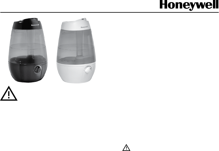 honeywell humidifier cool mist manual