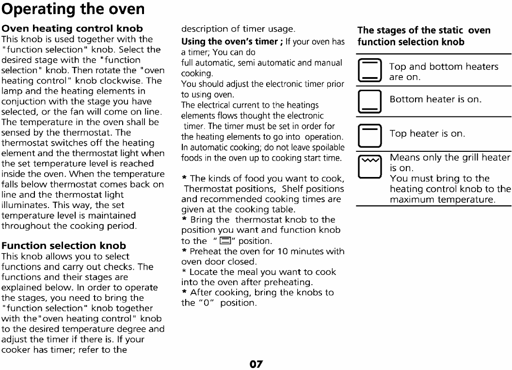 Page 10 of beko oven 4700 tpa user guide manualsonline of 29 biocorpaavc Choice Image