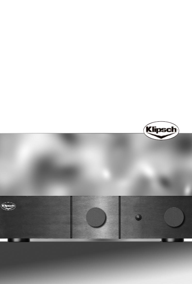 klipsch stereo amplifier rsa 500 user guide. Black Bedroom Furniture Sets. Home Design Ideas