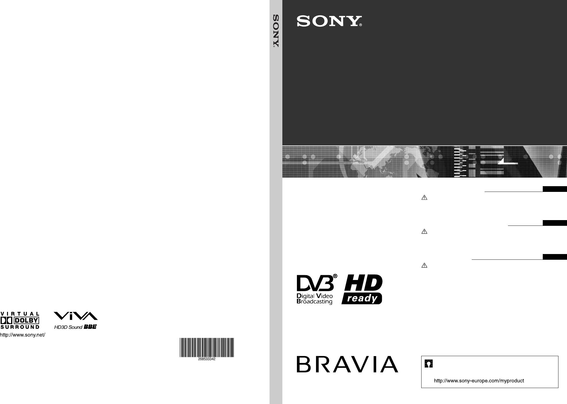sony barcode reader kdl 20s2000 user guide manualsonline com rh office manualsonline com Sony Operating Manuals Sony Operating Manuals